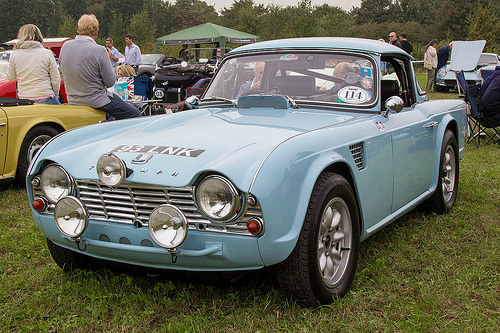 Triumph Tr4 Sports Car Sportscar2com