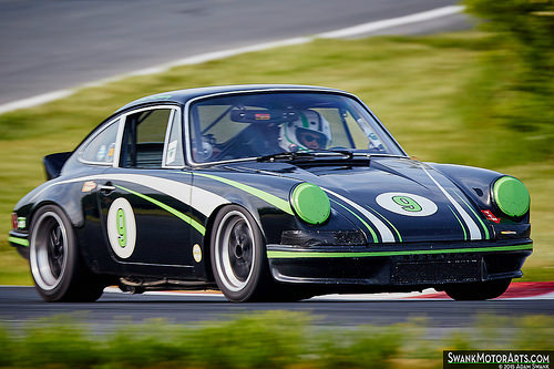 1970 Porsche 911 This Dazzling Spectacle Was Driven By Daniel McChesney In  Group 2 Of The 2015 Jefferson 500. Wow