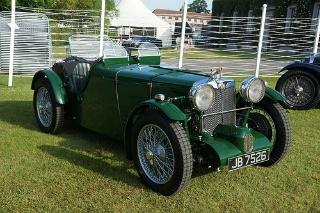 Early MG Sports Car - Sportscar2 com